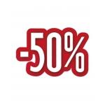 AFFICHE -50% 30X24.5